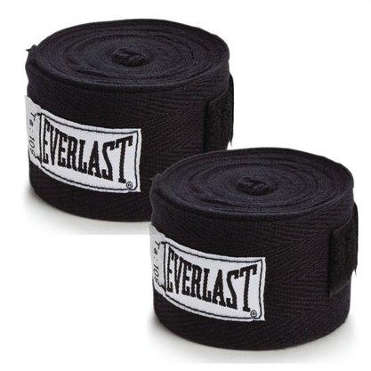 Bandagem Everlast 3m Preta