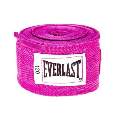 Bandagem Everlast 3m Rosa