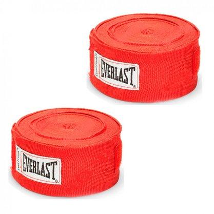 Bandagem Everlast 4,60m Vermelha
