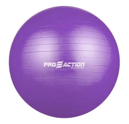 Bola De Pilates 45cm Com Bomba Proaction