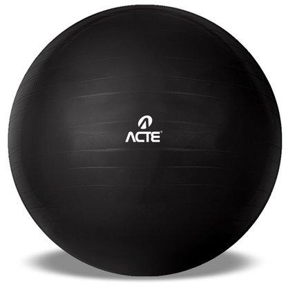 Bola De Pilates Gym Ball 65cm Preta ACTE