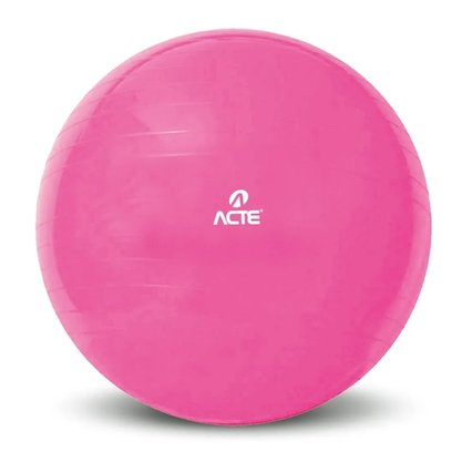 Bola De Pilates Gym Ball 65cm Rosa ACTE
