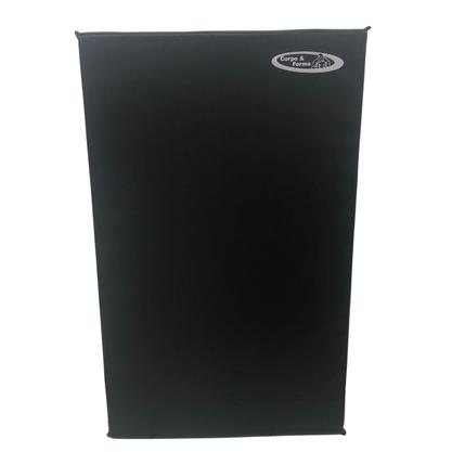 Colchonete De Espuma D23 - 100cm x 60cm x 3cm - Preto
