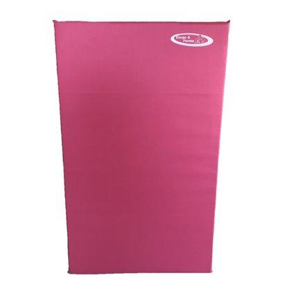 Colchonete De Espuma D23 - 100cm x 60cm x 3cm Rosa