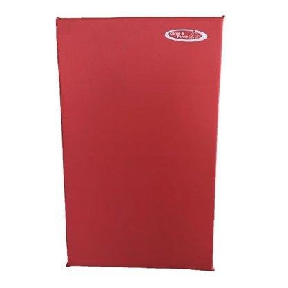 Colchonete De Espuma D23 - 100cm x 60cm x 3cm - Vermelho
