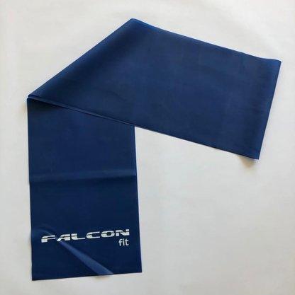 Faixa Elástica 1,20m Azul Falcon Fit