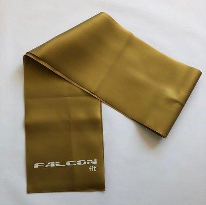 Faixa Elástica 1,20m Dourada Falcon Fit