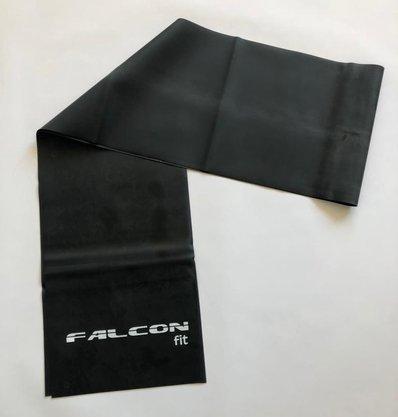 Faixa Elástica 1,20m Preta Falcon Fit