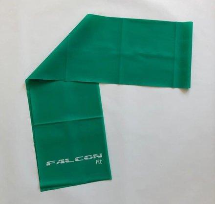 Faixa Elástica 1,20m Verde Falcon Fit
