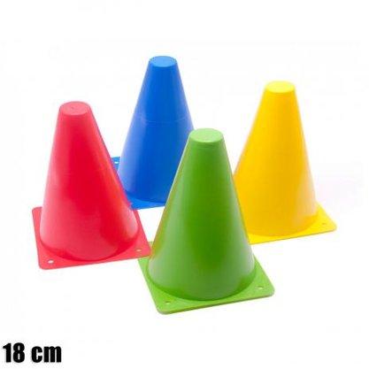 Kit 4 Cones De Agilidade 18cm Zstorm