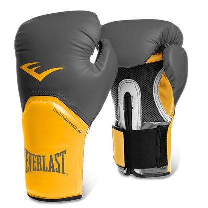 Luva Boxe Everlast Pro Style Cinza