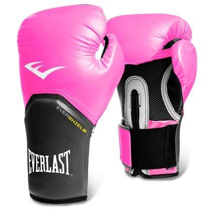 Luva Boxe Everlast Pro Style Rosa