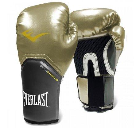 Luva Boxe Pro Style Everlast Dourada