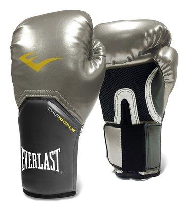 Luva Boxe Pro Style Everlast Prata
