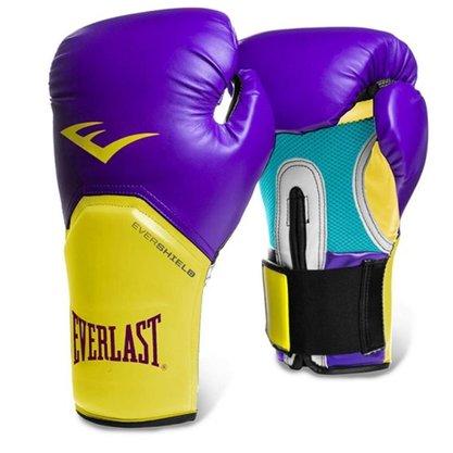 Luva Boxe Pro Style Everlast Roxa