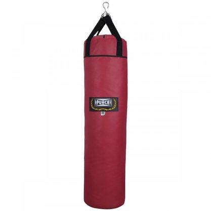 Saco De Pancada Couro Sintético 150cm Vermelho Punch