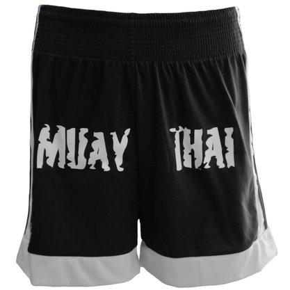 Shorts Muay Thai Preto Kanxa