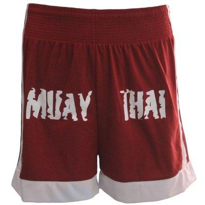 Shorts Muay Thai Vermelho Kanxa