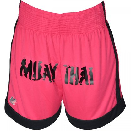 Shorts Muay Thai Rosa Kanxa