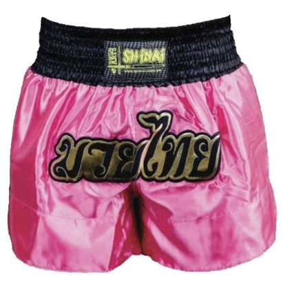 Shorts Muay Thai Shinai Rosa
